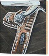 Gene Autry Tribute Wood Print
