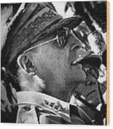 General Douglas Macarthur Wood Print