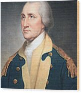 George Washington By Rembrandt Peale Wood Print
