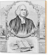 George Whitefield (1714-1770) Wood Print
