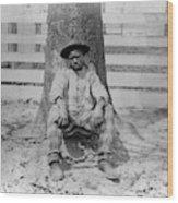Georgia Chain Gang Wood Print