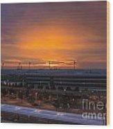 German Sunrise Wood Print