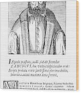 Girolamo Zanchi (1516-1590) Wood Print