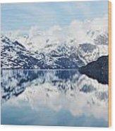 Glacier Bay Wood Print