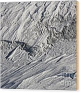 Glacier Wood Print by Frank Tschakert