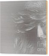 Glamorous Girl With Luxury Salon Hair Style Wood Print