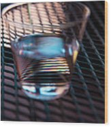 Glass Half Full Wood Print by David Patterson