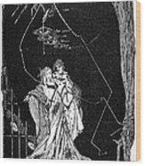 Goethe: Faust Wood Print