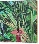 Going Bananas Wood Print
