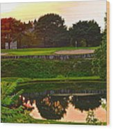 Golf Course Beauty Wood Print