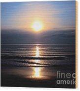 Good Morning Sunshine Wood Print