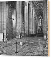 Gothic Church Wood Print