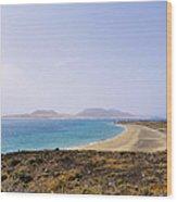 Graciosa Island Wood Print