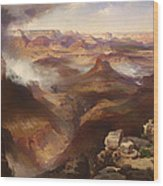 Grand Canyon Of The Colorado River Wood Print