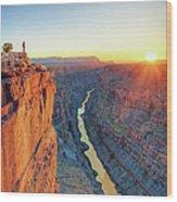 Grand Canyon, Toroweap Lookout Wood Print