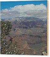 Grand Canyon View  Wood Print