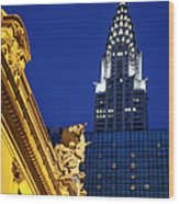 Grand Central Wood Print