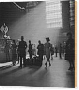 Grand Central Station, 1941 Wood Print
