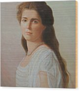 Grand Duchess Maria Nikolaevna Of Russia Wood Print