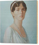 Grand Duchess Olga Nikolaevna Of Russia Wood Print