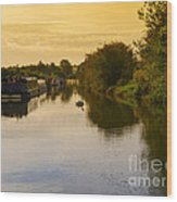 Grand Union Canal In Berkhampsted Wood Print