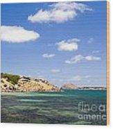 Granite Island South Australia Wood Print