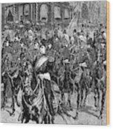 Grant Funeral, 1885 Wood Print