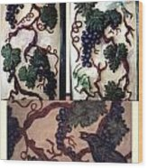 Grapevine Wood Print by Charles Lucas