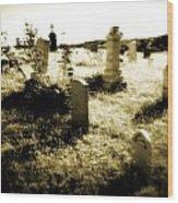 Graveyard 4724 Wood Print