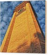 Great Northern Clock Tower Wood Print by Dan Quam