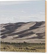 1 Great Sand Dunes Panorama Wood Print