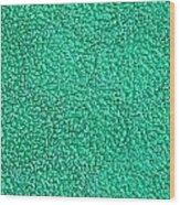 Green Towel Wood Print