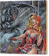 Grimm Fairy Tales 01 Wood Print by Zenescope Entertainment