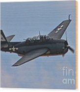 Grumman Tbm-3e Avenger Wood Print by Tommy Anderson