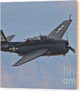 Grumman Tbm-3e Avenger Wood Print