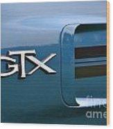 Gtx  Wood Print