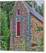 Guernsey Barn Wood Print