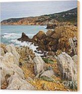 Guincho Cliffs Wood Print
