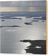 Gulf Of Morbihan, Vannes Wood Print