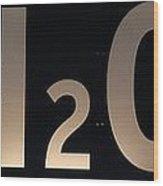 H2O Wood Print