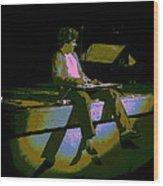 Hagar In Spokane 1977 Wood Print