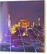 Hagia Sophia - Istanbul Wood Print