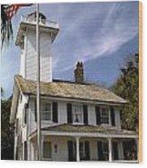 Haig Point Lighthouse Wood Print