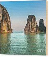 Halong Bay -vietnam Wood Print