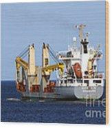 Han Xin Ship Wood Print
