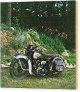 Harley Davidson  1935 Wood Print