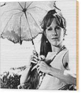 Harper, Julie Harris, 1966 Wood Print