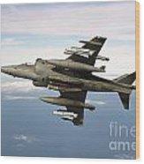 Harrier Gr7 Wood Print