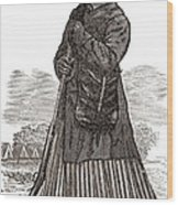 Harriet Tubman, American Abolitionist Wood Print