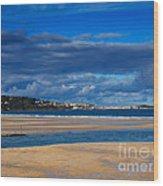 Hayle Estuary Cornwall Wood Print